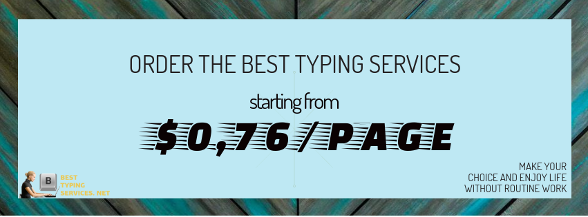 best typing services online
