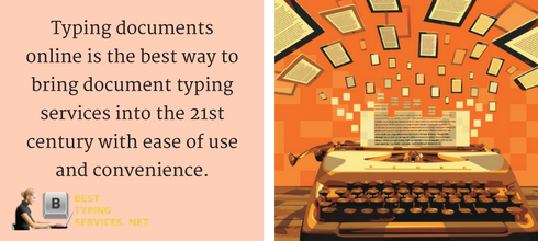 typing documents online