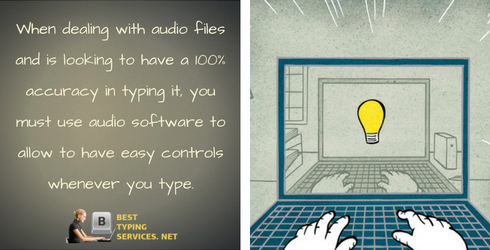 audio typing service