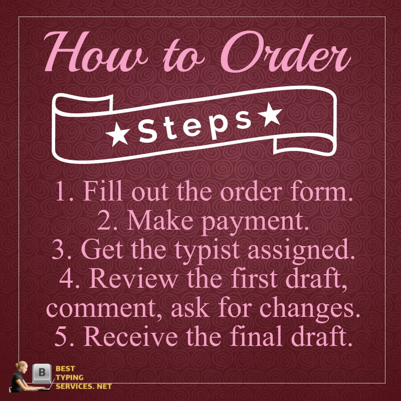 steps to order mp4 to text services