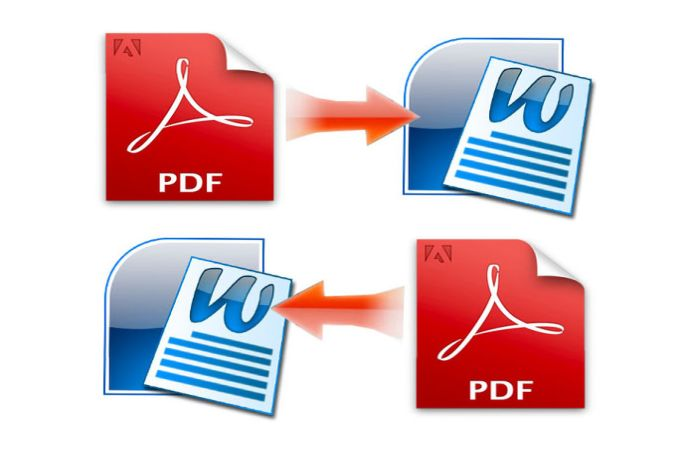 conversion word to pdf