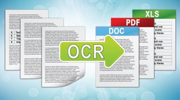using the ocr software