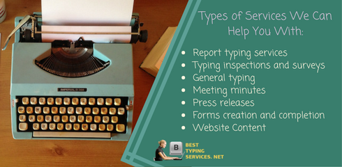 types of services we can help with