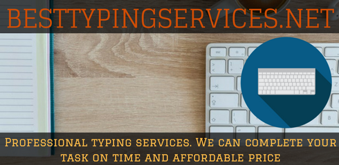 adroit typing services online Australia