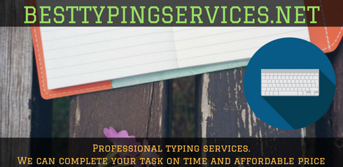 knowledgeable document typing services New Zealand