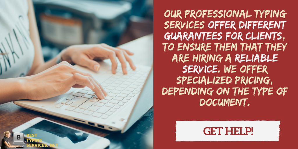 professional typing service online help