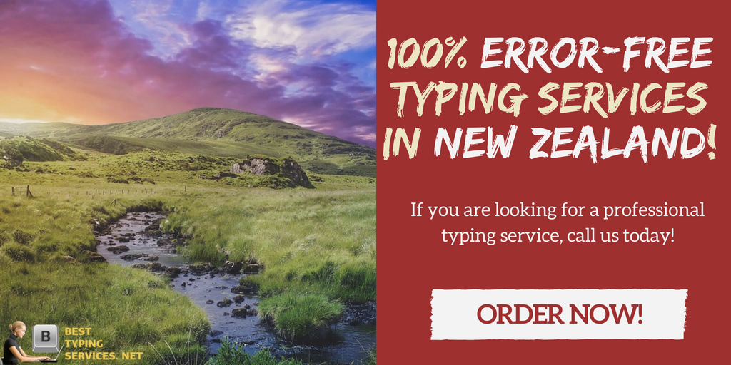 talanted typist services New Zealand